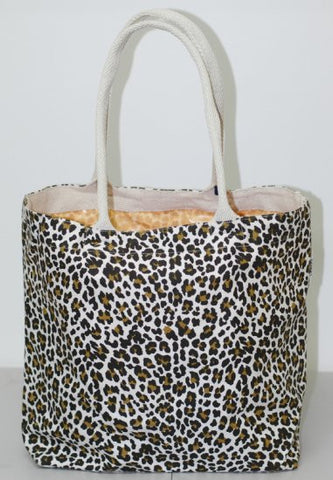 Ocelot Canvas Tote Bag