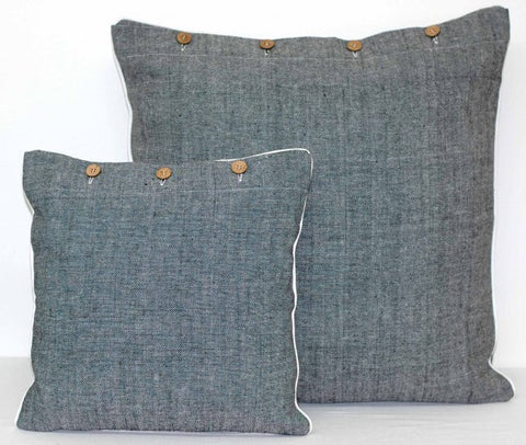 Raven Black Cushion Covers
