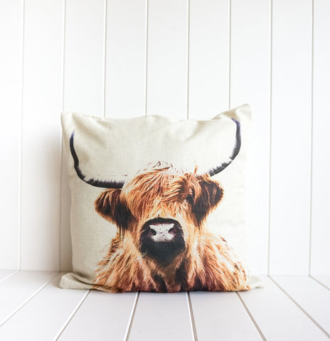 Bovine Portrait cushion