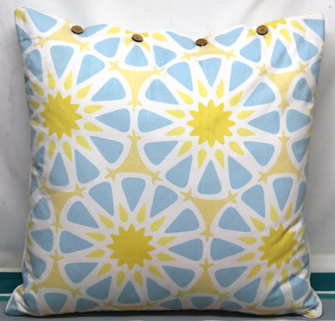 Peggy Blue/ Yellow Cushion Covers