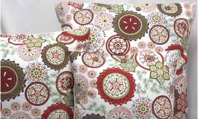 Wildflower Red Cushion Covers