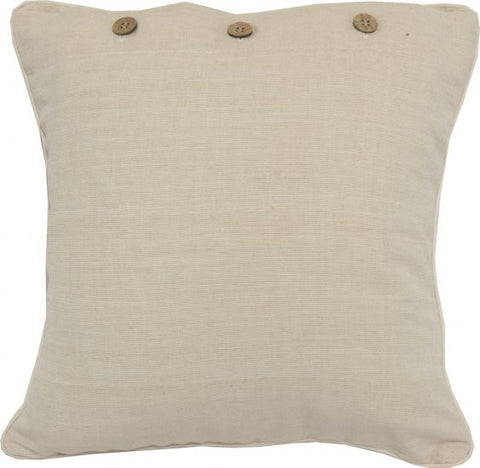 Cream Cushion Cover
