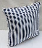 Ornamental Blue Cushion Covers