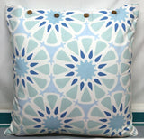 Peggy Blue/Green Cushion Covers