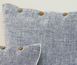 Heather Blue Cushion Covers