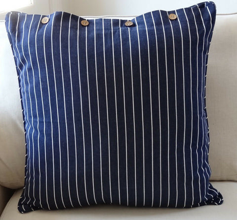 Regatta Navy Cushion Cover