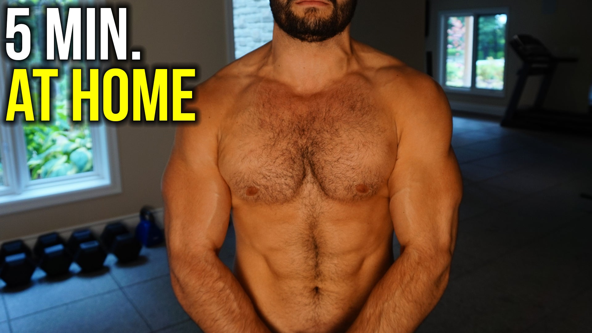 BEAST Home Chest Workout NO Weights