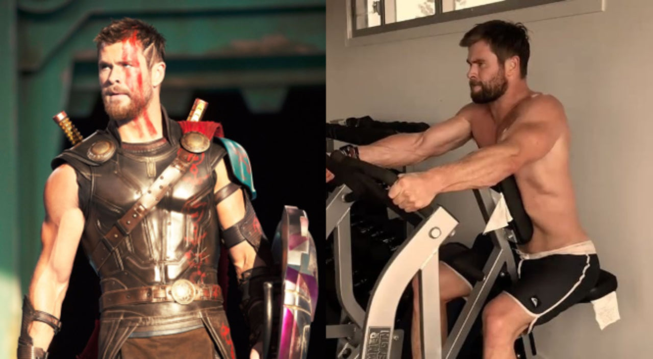 Chris Hemsworth's every day upper-body workout