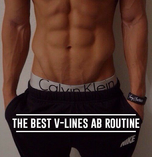 How to Get V-Lines: The Best V-Lines Ab Routine ...