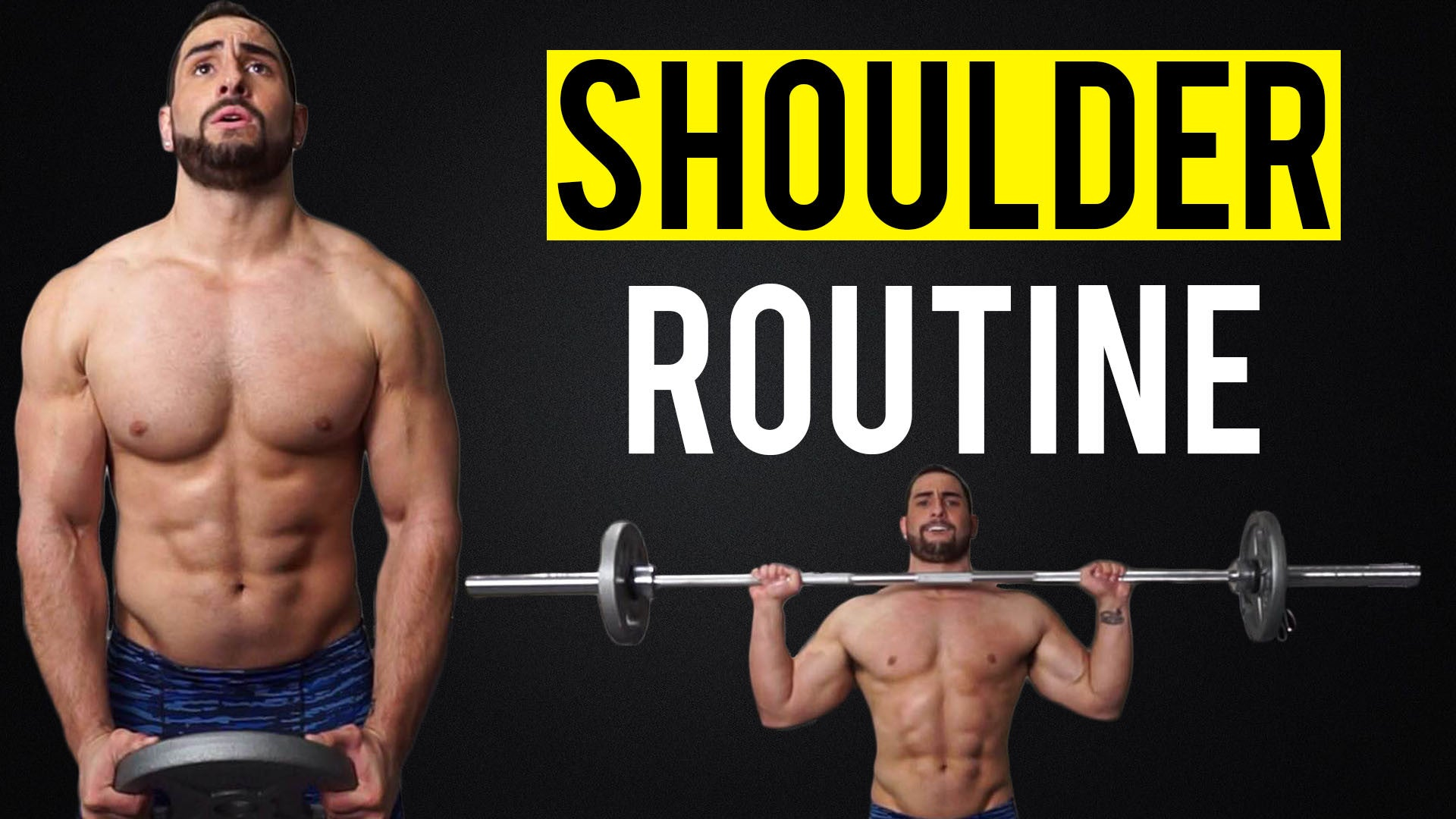 How to increase the shoulders 30