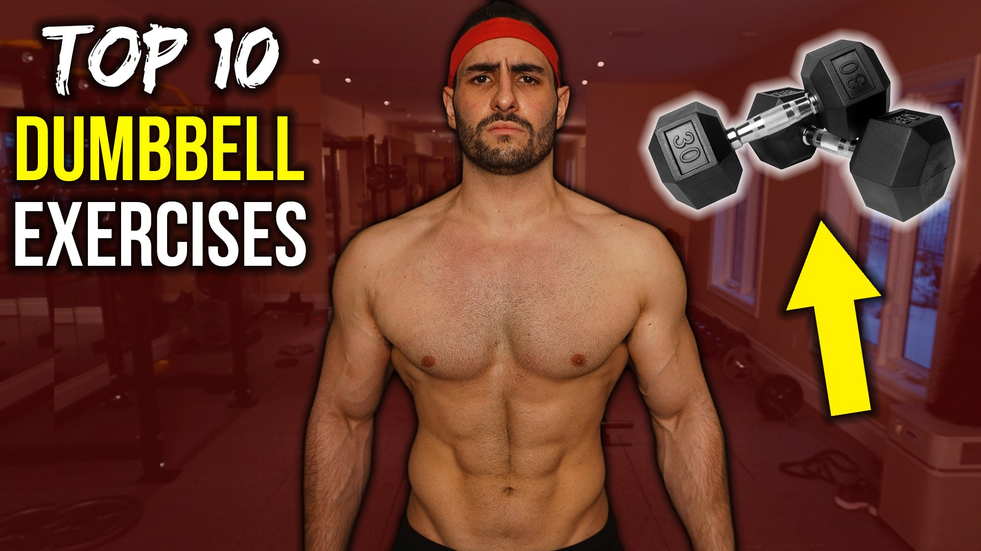 Top 10 Dumbbell Exercises to Build Muscle (HIT EVERY MUSCLE ...