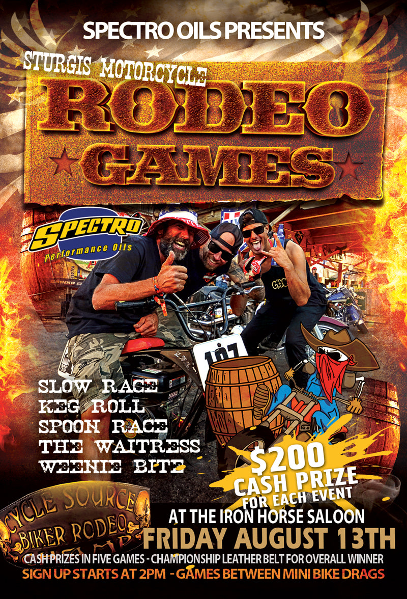 Sturgis Motorcycle Rodeo Games