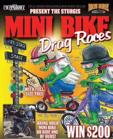 Mini Bike Drag Races
