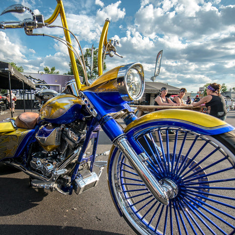 Easyriders Blue & Gold Bike