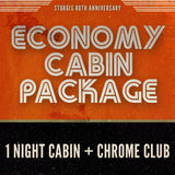 Economy Lodging and Concert Upgrade Package