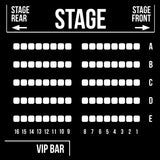 VIP Stage Side Reserved Seating - Saturday, August 15, 2020