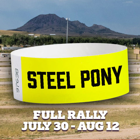 Campground Wristband & FREE Tent Camping - 2018 Rally
