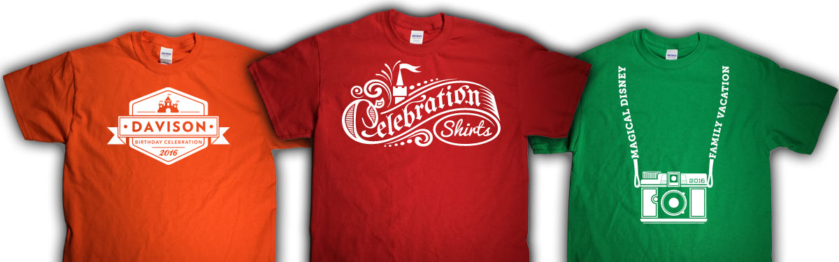 00e3bbee22b2 ... Shirts believe there is nothing more special than time celebrating with  family and friends. Add to that the magic of a theme park vacation  together