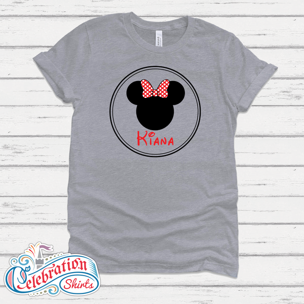 Minnie Head - Personalized!