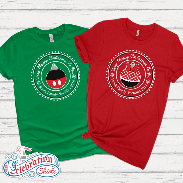 Mickey's Very Merry Christmas Party Tee