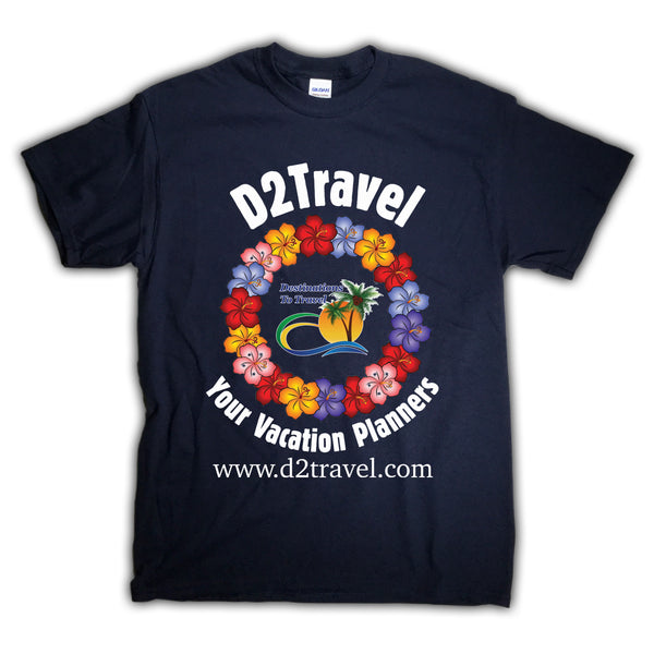 D2Travel Lei Tee
