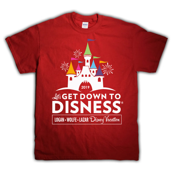 Get Down To Disness Personalized Shirt