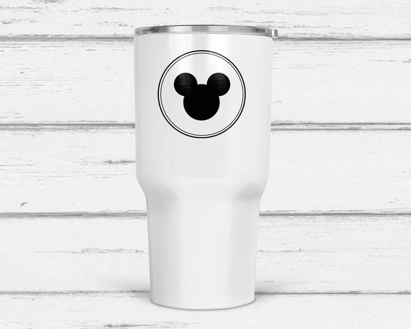 Mickey 30 Oz Double Wall Tumbler