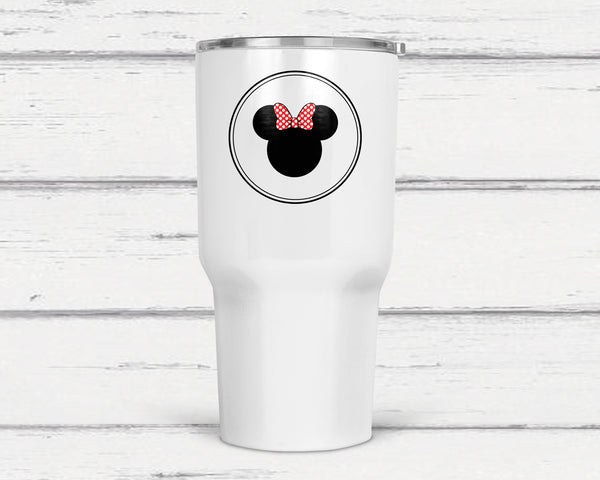 Minnie 30 Oz Double Wall Tumbler