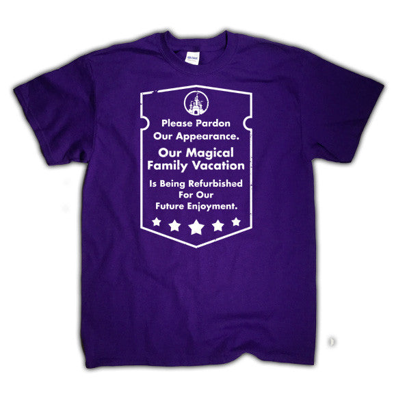 Disneyworld matching shirt, purple