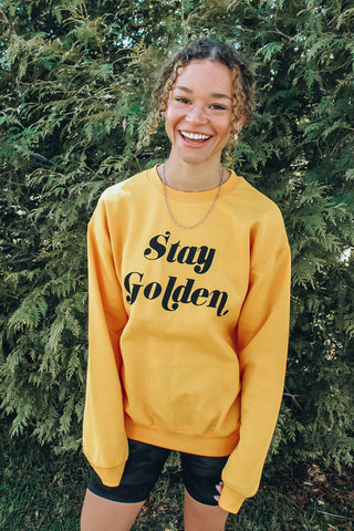 """Stay Golden"" Sweatshirt"