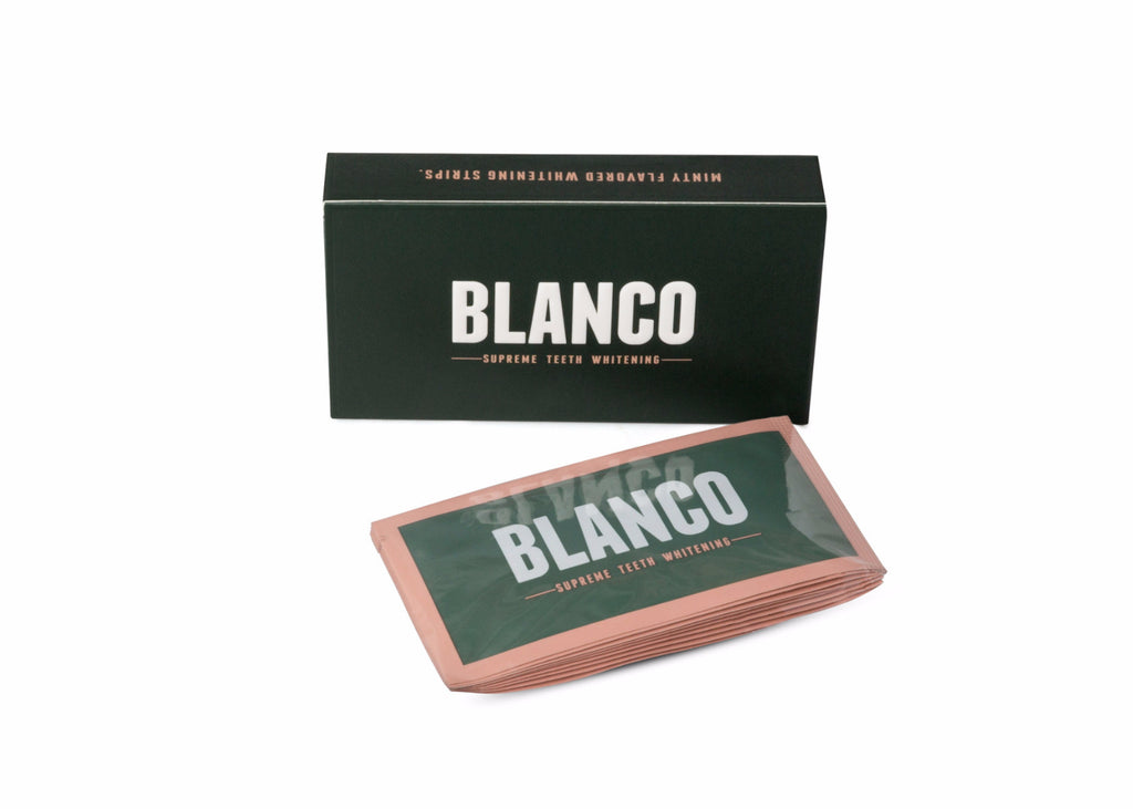 2 WEEK SUPPLY BLANCO SUPREME TEETH WHITENING STRIPS