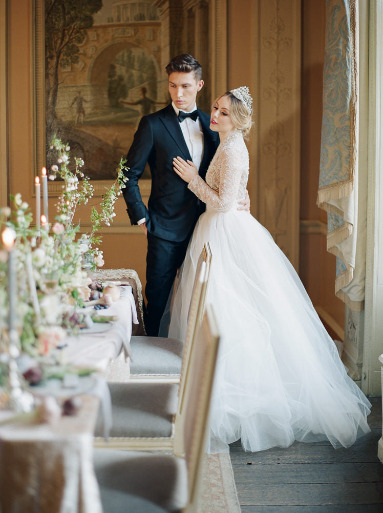 Old World London Wedding Inspiration with Delicate Details