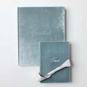 Wedding Stationery Guestbook Velvet UK