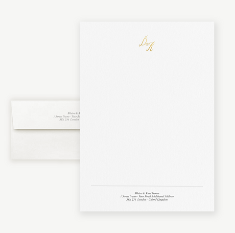 Mr. & Mrs. Letterheads