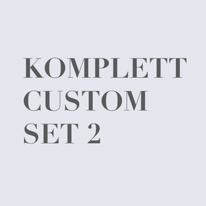 Print & Material (MAY2018) -Komplett Custom Set  E&A