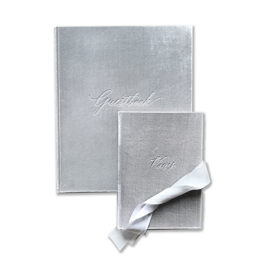 Guest & Vow Book Set Ice Grey