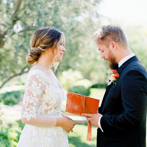 Vows Books in use