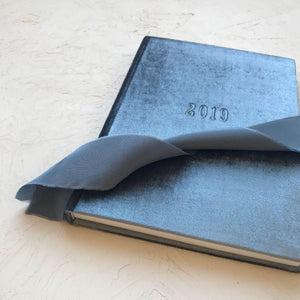 Custom Velvet Notebook - Griseo