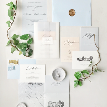 Romantic Stationery Set