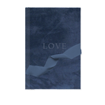 Custom Velvet Notebook - Deep Sea