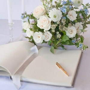Guestbook - Silk Velvet Ice Grey