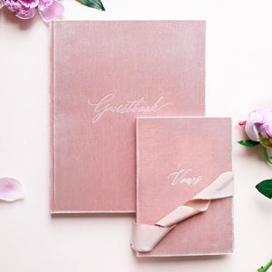 Guest & Vow Book Set Blush