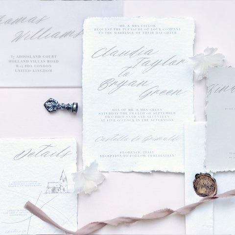 Romance - Invitation Set
