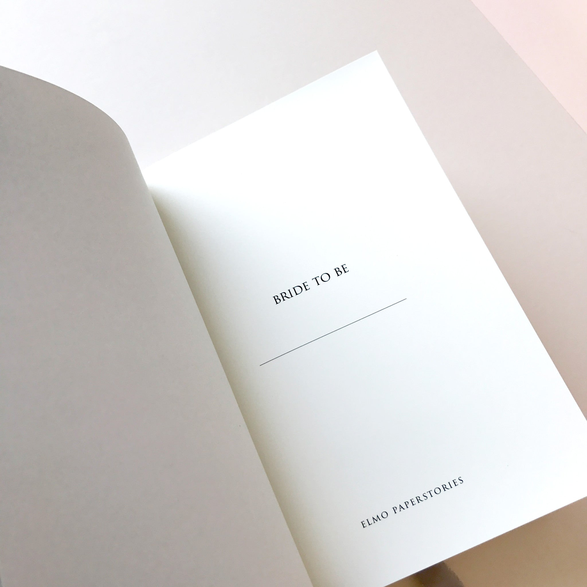 Blush Notebook