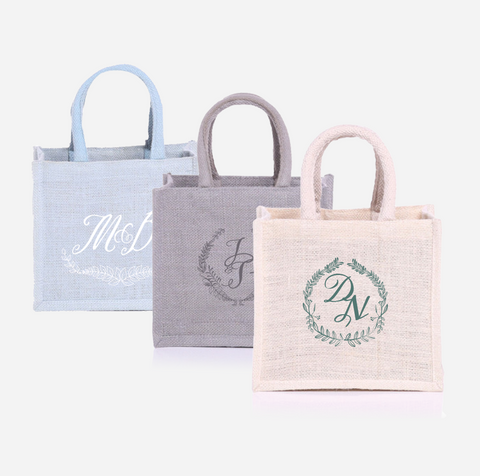 Beautiful Jute Goodie Bags with Handle