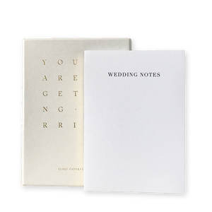 Grey Wedding Notes