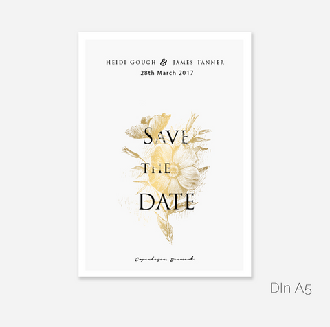 Blumengold Save the Date Card