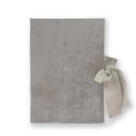 Vow Book Covers Uk Velvet - Taupe Wedding Stationery wedding theme