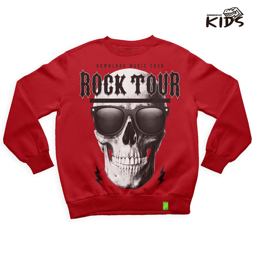 "Sudadera Kids ""Rock Tour"""