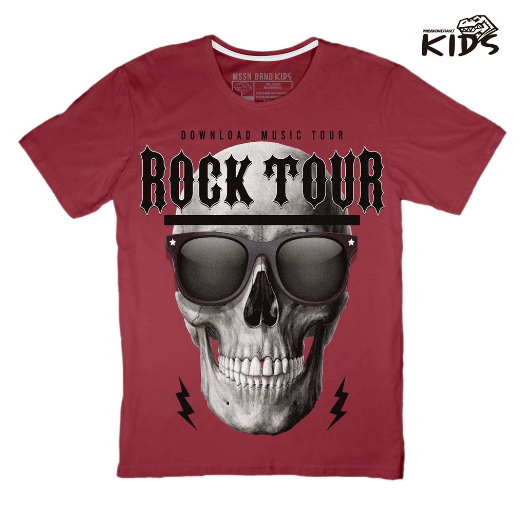 "Playera Kids ""Rock Tour"""